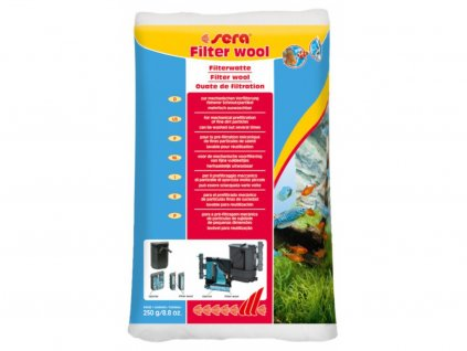 Filtrační vata bílá 250 g