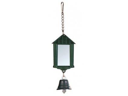 Zrcátko lucerna se zvonečkem6cm TRIXIE