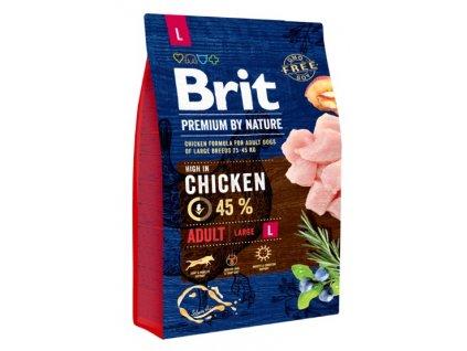 5304 brit premium by nature adult l 3kg