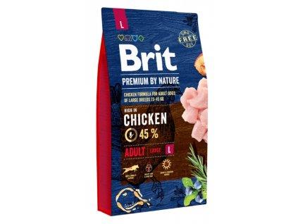 5364 brit premium by nature adult l 8kg