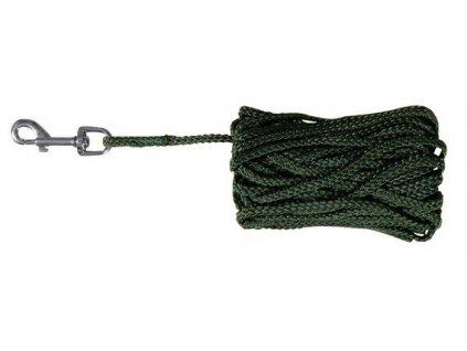 Prodlužovací vodítko šňůra 10m/5 mm, - zelená