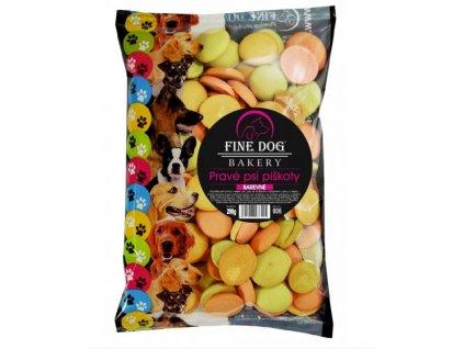 3654 fine dog mix piskoty barevne 200g