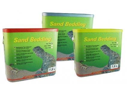 Lucky Reptile Sand Bedding Žlutý 7,5L
