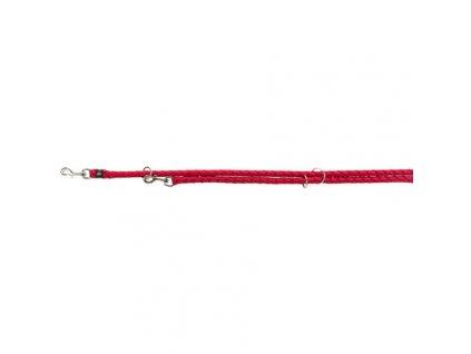 Vodítko CAVO kulaté prodlužovací - červená
