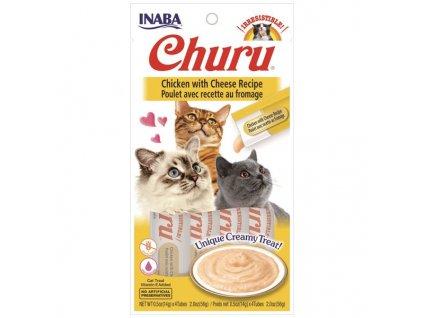 CHURU CHICKEN WITH CHEESE 56g 4x14g