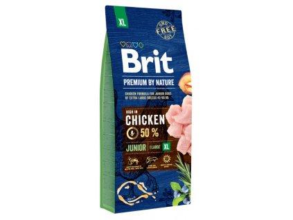 5373 brit premium by nature junior xl 15kg
