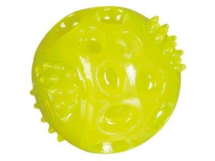 Svítící míček, termoplastová guma (TPR) 6 cm (náhradní míč do 33648)