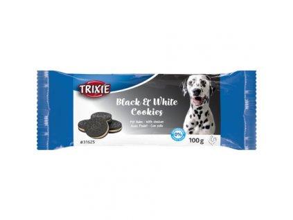Black & White Cookies, sušenky s kuřecím, 4ks/100g
