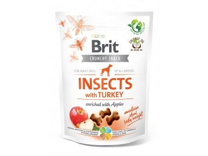 20324 BCD crunchy snacks INSECT TURKEY 200g K1 3D