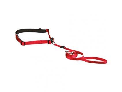 Pás na běh s nylonovým vodítkem pro malé a střední psy