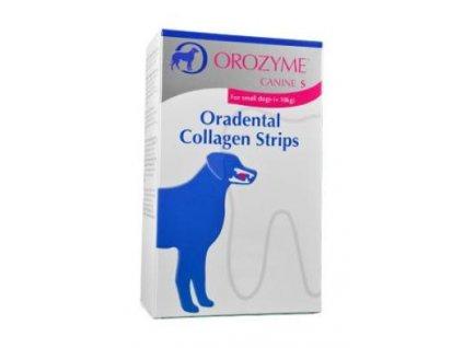 Orozyme plátky žvýkací pro psy S do 10kg 224g