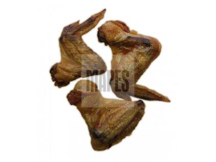 kuřecí křídla nebalená detail