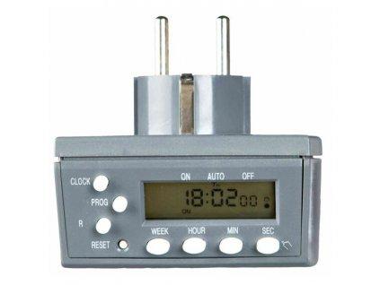 Digital časovač s funkcí po vteřinách s CS zástrčkou