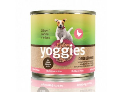 200g yoggies drubezi konzerva s ovesnymi vlockami