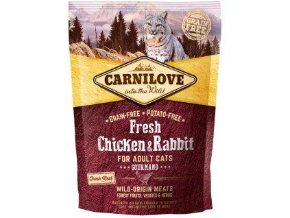5223 carnilove cat fresh chicken rabbit 0 4kg