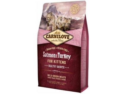 3771 carnilove cat salmon turkey for kittens 2kg