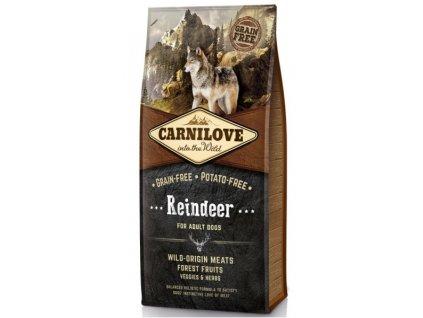 Carnilove Reindeer for adult 12kg | Tenesco.cz