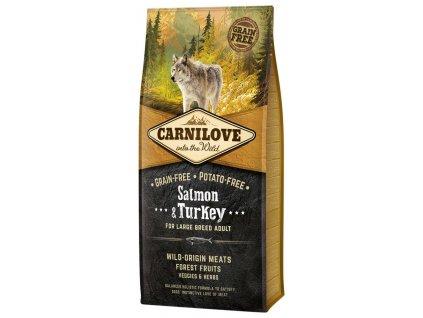 Carnilove Salmon & Turkey for large breed adult 12kg   Tenesco.cz