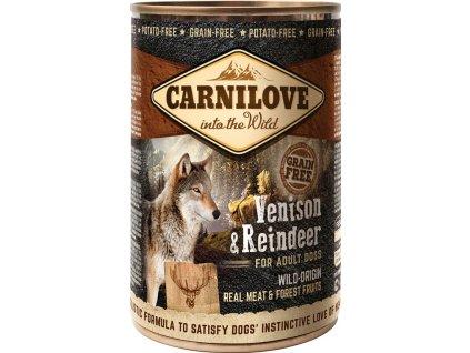 3723 carnilove wild meat venison reindeer 400g