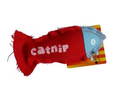 4236 hracka pro kocky textil s catnipem 15cm