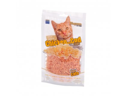 9423 magnum chicken cod chips for cats 70g