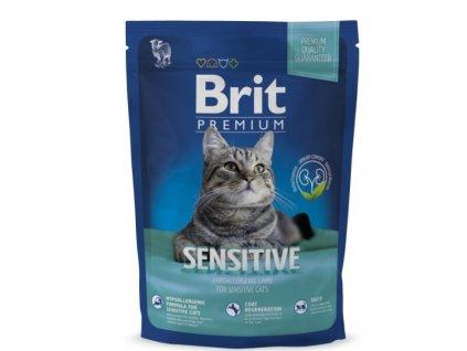 3846 new brit premium cat sensitive 800g