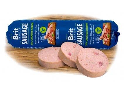 4806 new brit sausage chicken venison 800g
