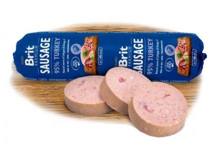 4797 new brit sausage turkey 800g