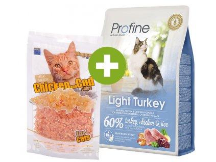 akce light turkey pamlsky