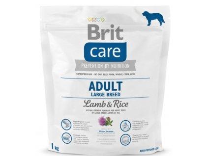 3537 brit care adult large breed lamb rice 1kg
