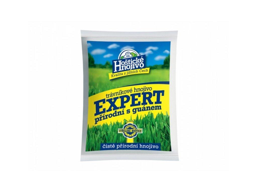 Hoštické hnojivo Trávníkové hnojivo EXPERT přírodní s guánem 8 kg