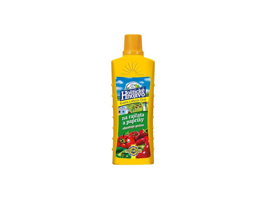 Hoštické Hnojivo na rajčata a papriky s guánem 0,5 l