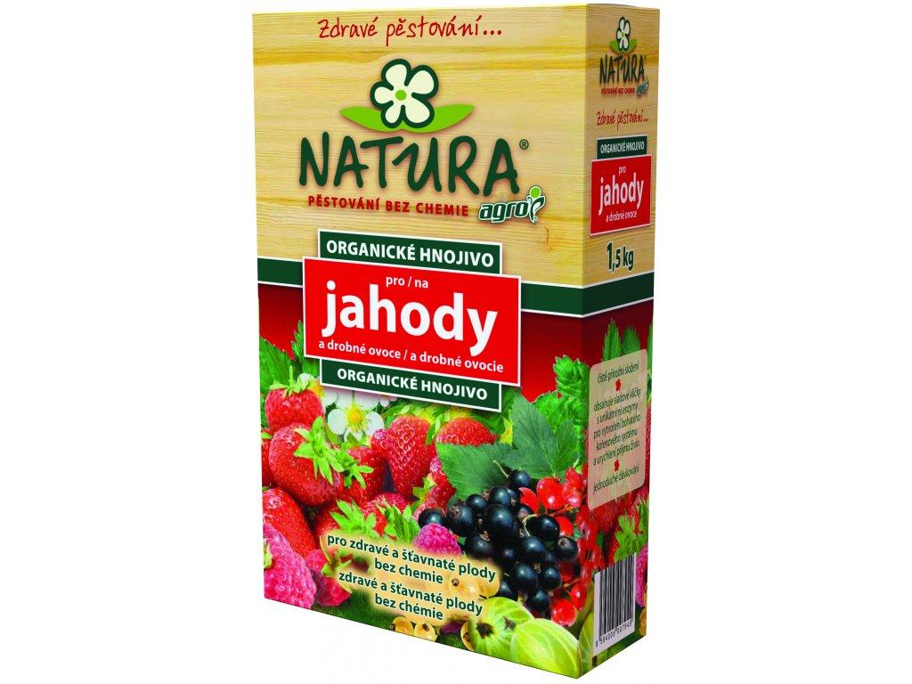 AGRO NATURA Organické hnojivo pro jahody 1,5 kg