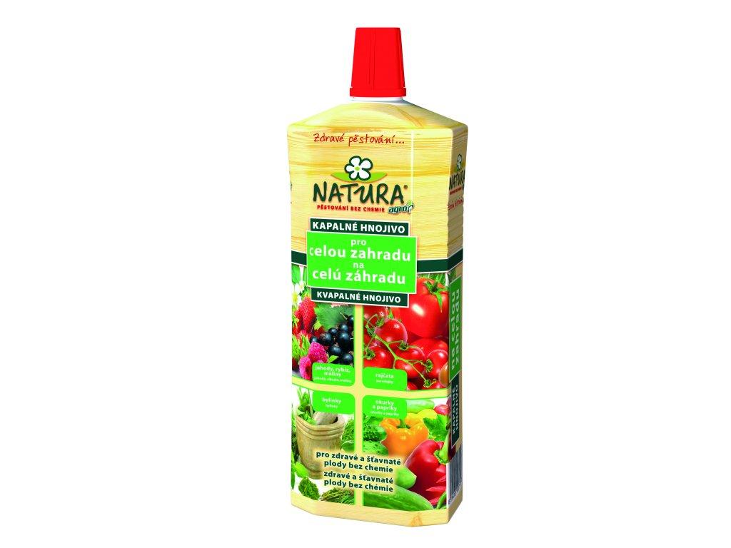 AGRO NATURA Kapalné organické hnojivo pro celou zahradu 1 l