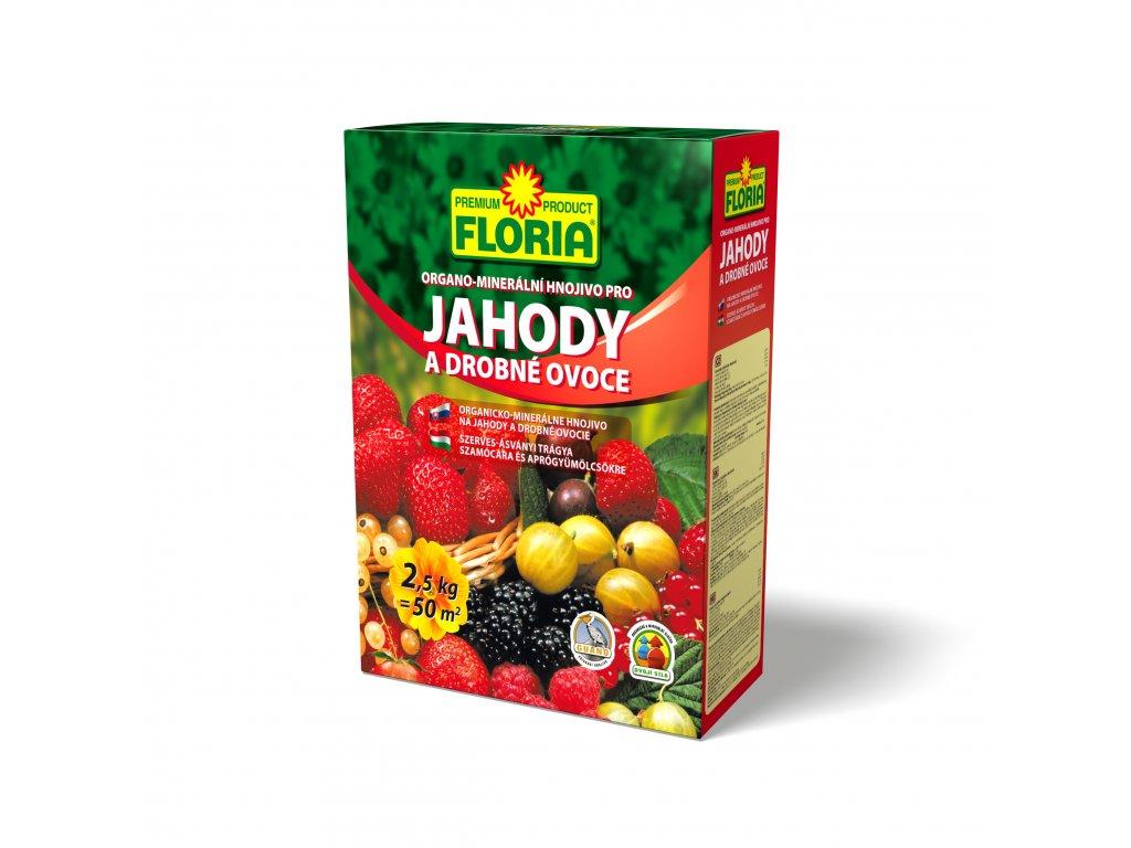FLORIA Organo - minerální hnojivo pro jahody a drobné ovoce 2,5 kg