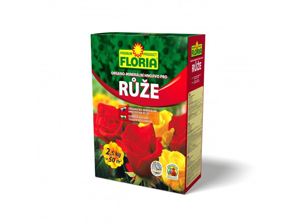 FLORIA organo - minerální hnojivo pro růže 2,5 kg