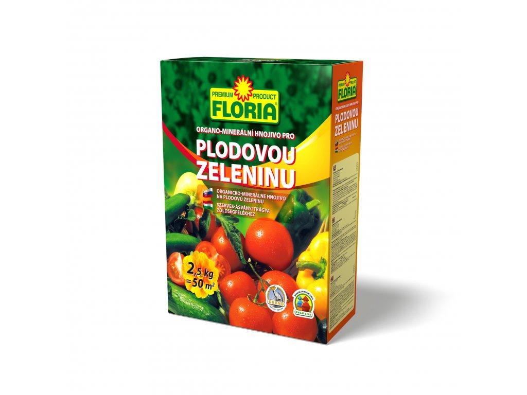 FLORIA organo - minerální hnojivo pro plodovou zeleninu 2,5 kg