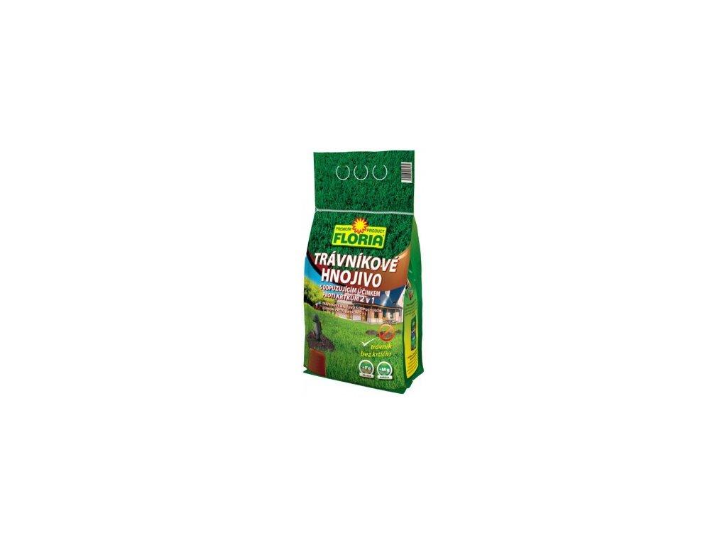 FLORIA - Trávníkové hnojivo s odpuzujícím účinkem proti krtkům 2,5 kg