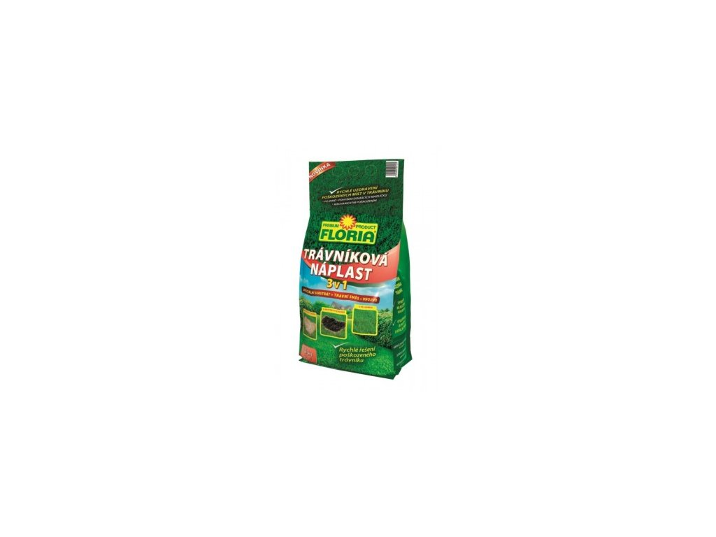 FLORIA - Trávníková náplast 3v1 1 kg