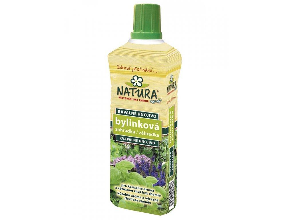 AGRO NATURA Kapalné organické hnojivo bylinková zahrádka 0,5 l