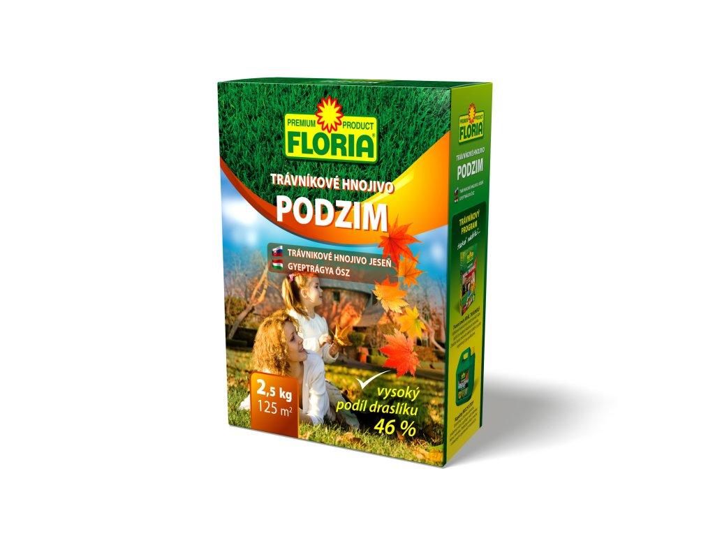 FLORIA - Trávníkové hnojivo PODZIM 2,5 kg
