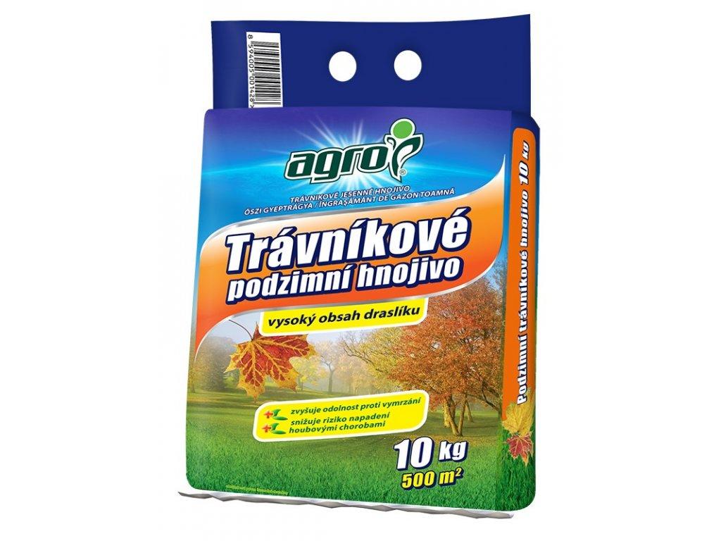 000346 AGRO Travnikove podzimni hnojivo 10kg 8594005001428