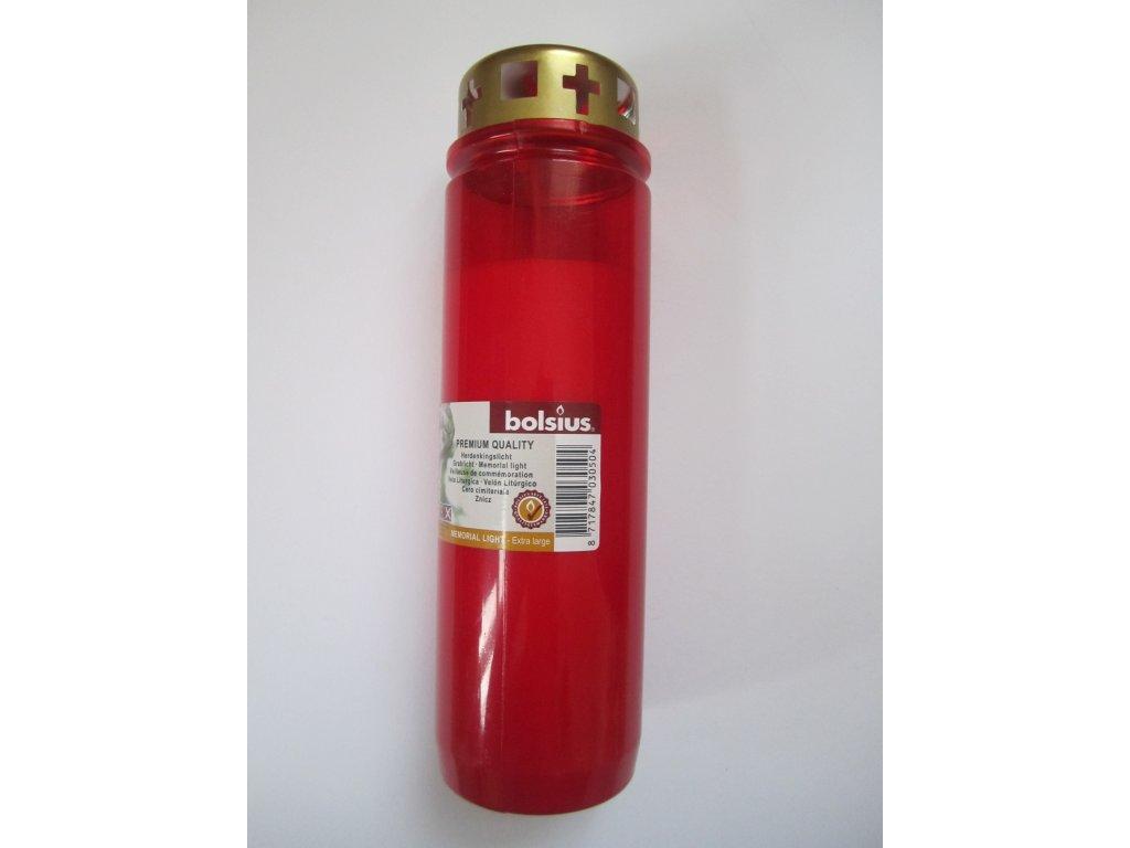 Hřbitovní svíčka olejovka s víčkem 90, 410 g