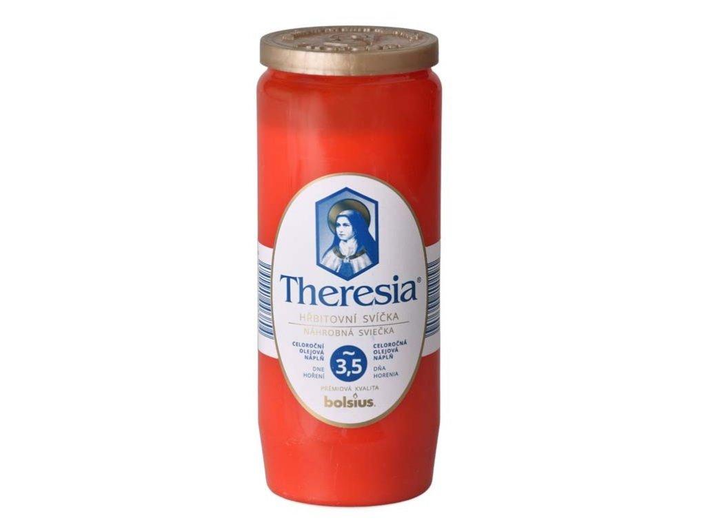 Theresia 3,5 červená