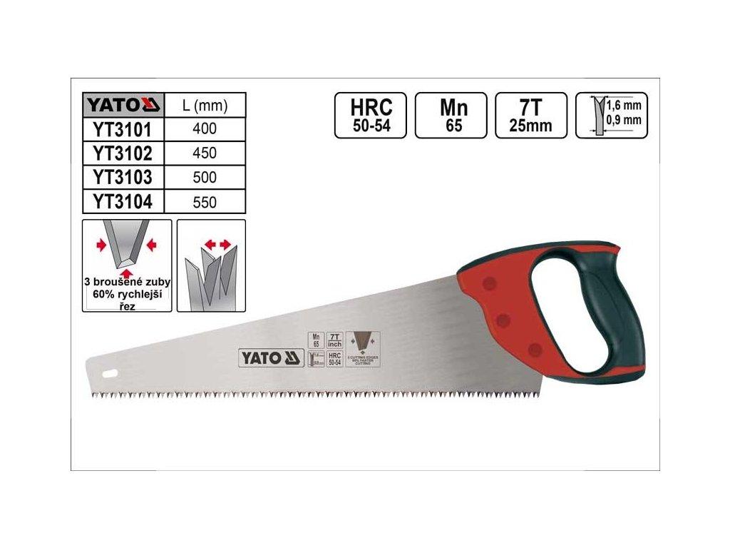 Yato Pila ocaska 500 mm