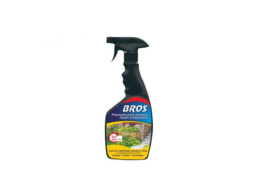 BROS - přípravek proti mechům, řasám a lišejníku 500 ml