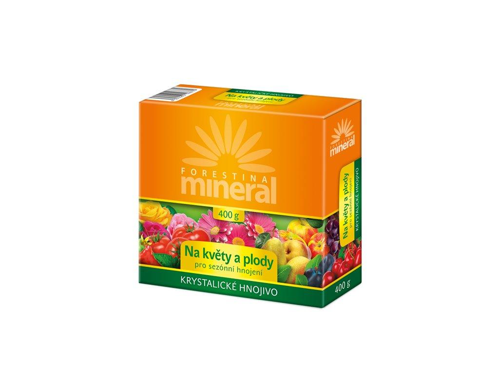 Forestina MINERAL Krystalické hnojivo Na květy a plody 400 g