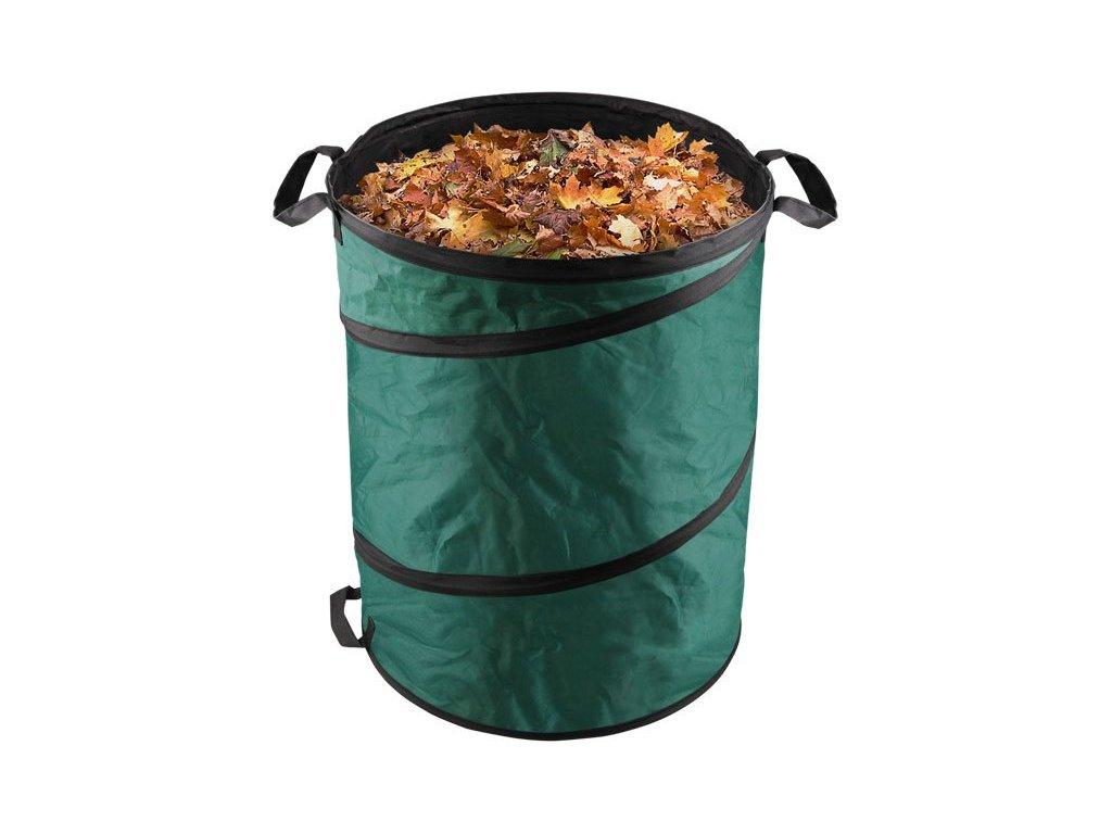 Koš skládací na listí a zahradní odpad, 55x72cm, 170L, 3 držadla, PES, EXTOL CRAFT