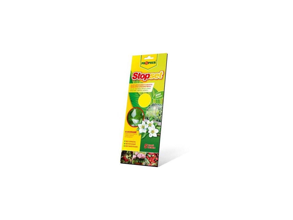 STOPSET - žluté desky 25 x 10 cm 5 ks