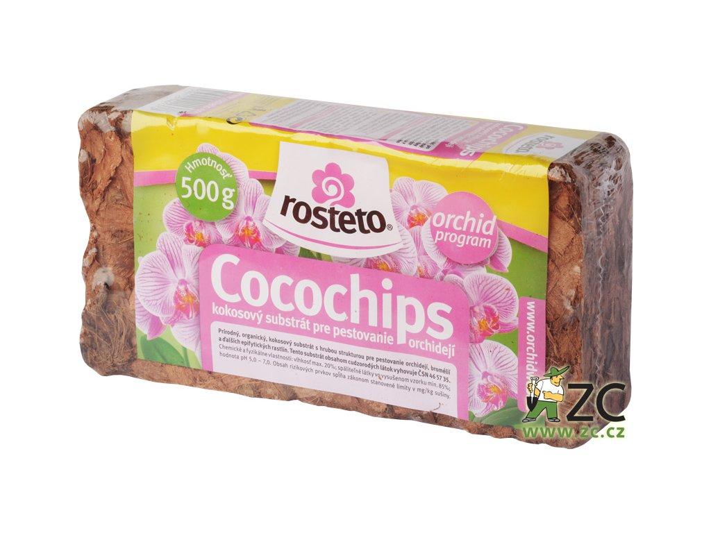 Cocochips Rosteto - kokosové kousky 500 g
